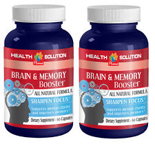 Glutamine Powder - Brain & Memory Booster 775mg - Perceptual Focus Pills 2B