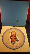 Starlight Angel By Sister Berta Hummel Christmas 1979 Plate In Original Box