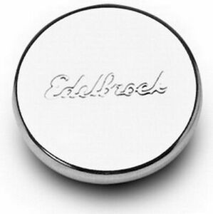 EDELBROCK Chrome Oil Fill Hole Plug P/N - 4415
