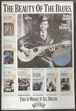 Robert Johnson The Complete Recordings Roots N' Blues 1990 PROMO POSTER