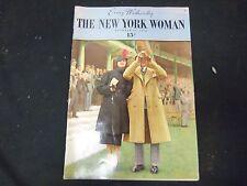 1936 OCT 14 THE NEW YORK WOMAN MAGAZINE - VOLUME 1, NUMBER 6 - ST 3807