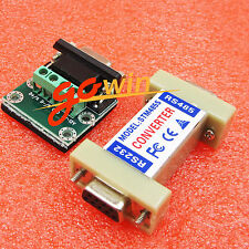 1pcs RS232 to RS485 1.2KM Data Interface Adapter Converter 9 Pin NEW