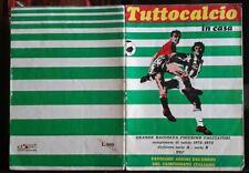 ALBUM CALCIATORI TUTTOCALCIO IN CASA 1972-73 EDISPORT DA COMPLETARE MANCANO 224