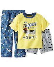 Carter's Super Secret Agent Spy 3-Piece Pajamas Set Infant Baby Boy 18 Months