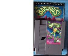 BATTLETOAD NINTENDO NES 1991 w/MANUAL & SLEEVE ACTUAL PICTURES TESTED ACCEPTABLE