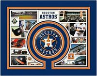 "Houston Astros MLB Photo Collage (Size 11"" x 14"") Custom Matted"