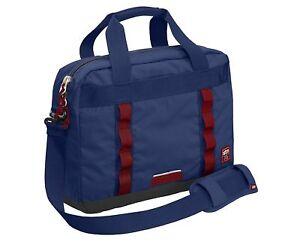 STM Laptop + iPad Shoulder Messenger Padded Bag Case for 13-Inch Laptops - Navy