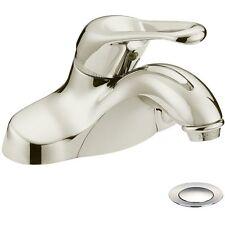 Designers Impressions Satin Nickel Lavatory Bathroom Vanity Faucet  #615632