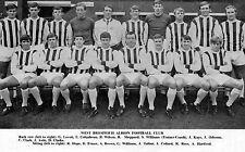 WEST BROMWICH ALBION FOOTBALL TEAM PHOTO>1968-69 SEASON