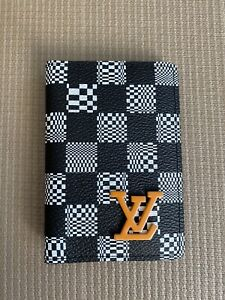 100% Authentic Louis Vuitton Damier Distorted Canvas Pocket Organizer