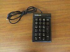 Genuine Goldtouch GTC-0077 USB 10 Key Numeric Keypad - Black TESTED