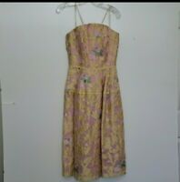 New Talbot Runhof Midi Spring Dress Size 8
