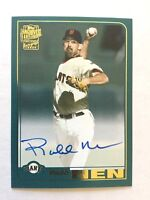 ROBB NEN Autograph - 2018 Topps Archives Fan Favorites Auto - Giants - ON CARD