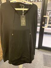 df2f5b2bb Ladies Black Jumper with Front Pocket Size 22 TK Maxx New With Tags