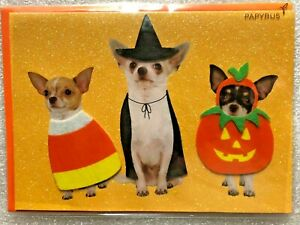 "HALLOWEEN CARD PAPYRUS GREETING CARD ""DID SOMEONE SAY TREATS? HAPPY HALLOWEEN"""