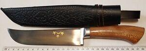 Uzbek national knife Pchak Pchok Pichok wooden handle from Andijan handmade 2