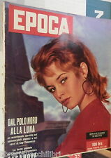 EPOCA 24 Agosto 1958 Brigitte Bardot Marisa Pavan Vittorio Mussolini Miller di e