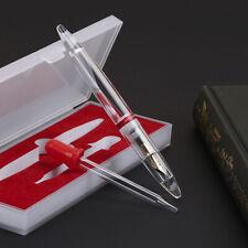1Pcs Acrylic Fountain Pen Transparent Moonman M2 Extra Fine Nib Birthday Gift