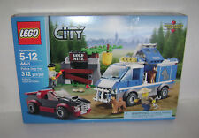 NEW 4441 Lego CITY Police Dog Van Building Toy GOLD MINE SEALED BOX RETIRED A