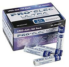 Pro-elec Ultra Alcaline Piles AAA (LR03) 0% mercure-Pack de 40
