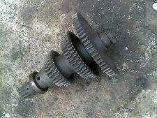Farmall 300u 300 Utility Tractor Ih Transmission Lower Bottom Drive Gears Gear Amp