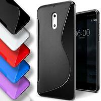 Silikon Schutz Hülle für Nokia Schutzhülle Handy Etui Case Cover Bumper Slim
