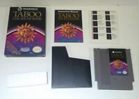 Taboo Sixth Sense (Nintendo NES) Complete in Box w VERY GOOD SAVE $5 on 3+ Games