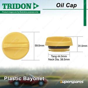 Tridon Oil Cap for Holden Astra Barina Calibra Captiva Combo Van Frontera Vectra