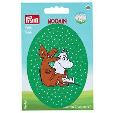 Prym Applikation Patch Mumin & Sniff, grün  925194