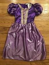 Disney Tangled Rapunzel Costume Dress Size Medium 7/8 Year old
