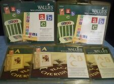 Wallies Cutout Parchment Letters Alphabet 71 Pc 5 New Packs Prepasted Crafts