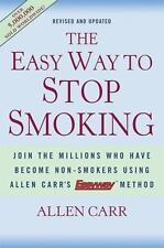 The Easy Way to Stop Smoking by Allen Carr (2004) Hardcover K13