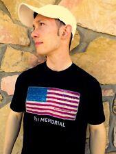 9/11 MEMORIAL New York City Black 100% Cotton Size M T-Shirt