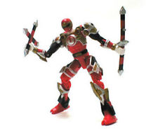 "Power Rangers RED NINJA FORCE 5"" figure & weapons NICE"
