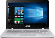 "Asus Q504UA 15.6"" FHD touch 2-in1 PC Convertible i5-7200 12GB 1TB Win10 Silver"