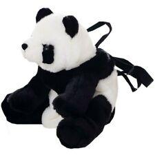 Donna Ragazze Pelo Soffice Panda Bambola Spalla Borsa Pelliccia Finta Zaino Con