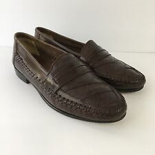Jarman International Collection Mens Sz 9D Leather Slip On Loafers