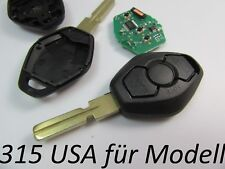 BMW  E46 E39 E60 E61 E63 E38 E83 E53 E36 E83 Fernbedienung für USA Import 315mhz