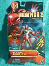 "IRON MAN movie series | Mark V Wal-Mart exclusive | Marvel Legends 6"""