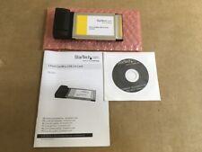 StarTech CardBus USB2 Card CBUSB22 ✅❤️️✅❤️️