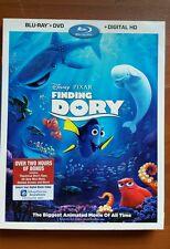 Disney Finding Dory (Blu-ray/DVD, Includes Digital Copy Free Shipping