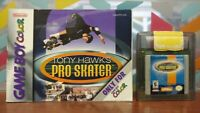 Tony Hawk Pro Skater + Manual - Nintendo Game Boy Color GB TESTED GBC Works