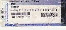 Microsoft Windows XP Home Edition Lizenzaufkleber Lizenz OEM Produkt Key