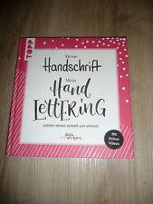 Meine Handschrift - Mein Handlettering * Lettern lernen schnell und einfach.