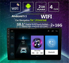 Android 9.1 Car MP5 GPS 10.1'' HD Screen WiFi Radio Stereo 2din Headunit Player