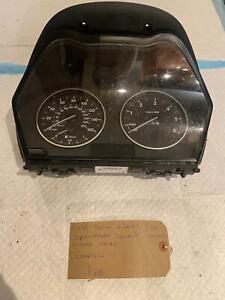2012 BMW 1 Series F20 F21 Speedometer Speedo Instrument Cluster Clocks 17649411
