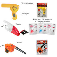 Funtime Worlds Smallest Desk Novelty Vacuum Cleaner Blower Hair Dryer Gifts