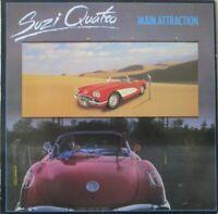 SUZI QUATRO - Main Attraction ~ VINYL LP