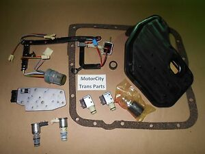 GM 4L60E Transmission Solenoid Kit Master Epc Shift Tcc Pwm 1998-02 W/ FILTER