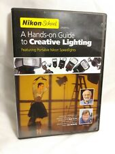 NIKON SCHOOL GUIDE TO CREATIVE LIGHTING DVD